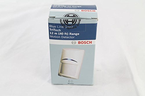 BOSCH SECURITY VIDEO ISC-BDL2-W12G TriTech Motion Detector for Security Systems