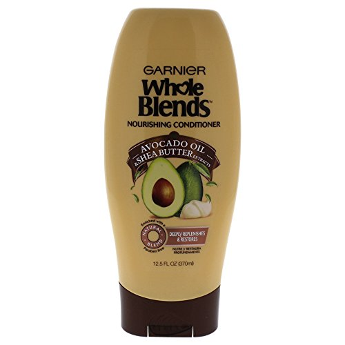 Avocado Butter Hair (Garnier Whole Blends Conditioner with Avocado Oil & Shea Butter Extracts, 12.5 fl. oz.)