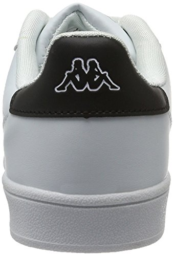 Kappa Sneakers 1011 Olymp White Mixte Blanc Adulte Black Basses 5r58SZa