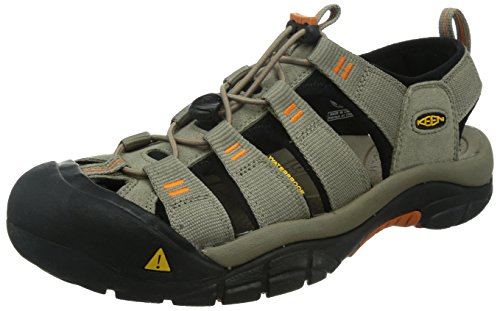 KEEN Men's Newport H2 Sandal, Brindle/Sunset, 9.5 M US by KEEN