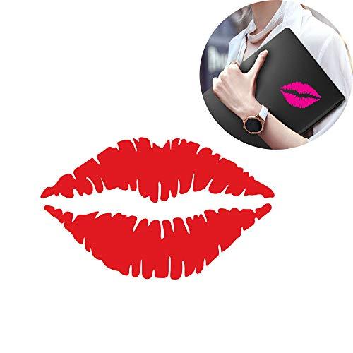 Hot Sale!DEESEE(TM)Kissing Lips Laptop Phone Sticker Fridge Fridge Wall Stickers Art -