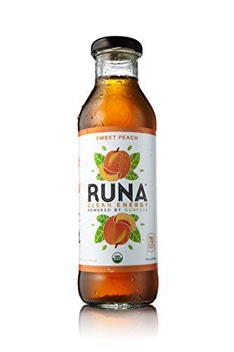 Runa Organic Peach Guayusa Tea, 14 Fluid Ounce -- 12 Per Case. … … …