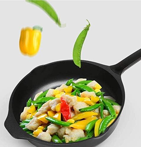 Fond plat à frire foyer poêle pot multifonction antiadhésive wok cuisinière à induction cuisinière à gaz