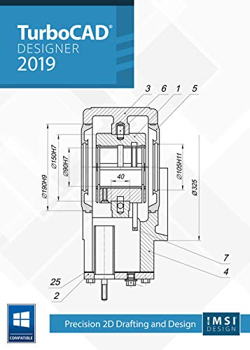 TurboCAD 2019 Designer [PC Download] (Software Turbocad)