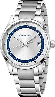 Calvin Klein Men's Analogue Quartz Watch with Stainless Steel Strap KAM21146