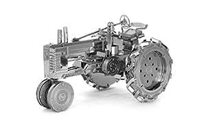Fascinations Metal Earth Farm Tractor 3D Metal Model Kit