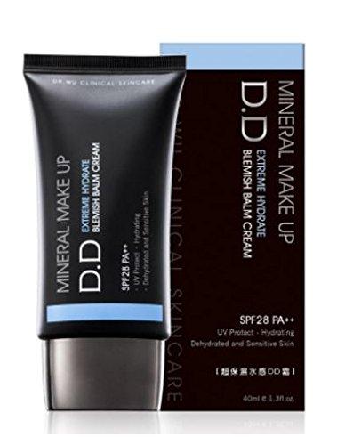 Dr.Wu Mineral Make Up DD Blemish Balm Cream PF28 PA++ 40ml (EXTREME HYDRATE DD BLEMISH BALM CREAM)