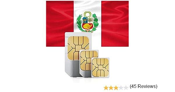 Tarjeta SIM Prepagada de 5GB de Datos de Alta Velocidad para Uso en Centro y Sudamérica (Chile, Colombia, El Salvador, Nicaragua, Panamá, Perú, etc.) válida por 30 días.: Amazon.es: Electrónica