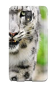 Galaxy Note 3 Case Cover - Slim Fit Tpu Protector Shock Absorbent Case (amazing White Tiger)