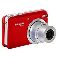 Polaroid iTT28 20 MP/1080p Full HD Compact Digital Camera with 20x Optical Zoom, Large 3.0-Inch LCD Display and Rechargeable Li-Ion Battery - Red