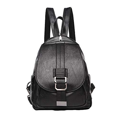 Signore Borsa Shopping Zaino Casual Tempo Miss Li Piccolo Black Viaggio Con Da Libero Decorativo Moda Studente Donna Bag SwPvPBR
