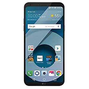416Py5mv5EL. SS300  - LG Q6 (US700) 32GB GSM Unlocked 4G LTE Android Smartphone w/ 13MP Camera and Face Recognition - Arctic Platinum  LG Q6 (US700) 32GB GSM Unlocked 4G LTE Android Smartphone w/ 13MP Camera and Face Recognition – Arctic Platinum 416Py5mv5EL