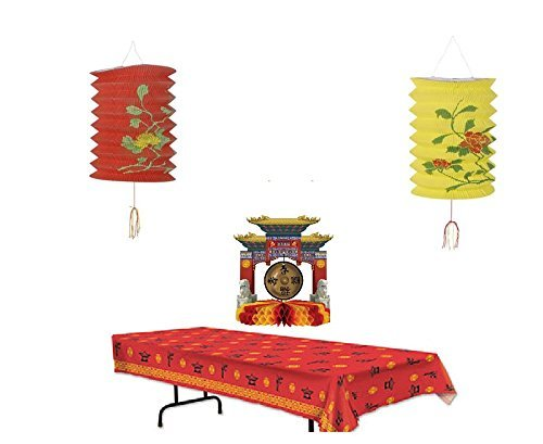 Asian Party Decoration Pack -