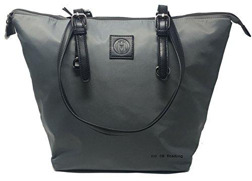 Unbekannt - Bolso de tela para mujer gris gris