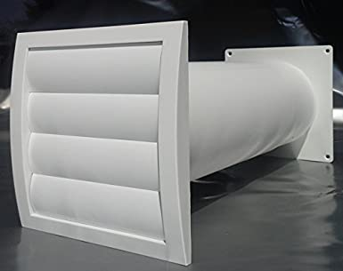 Mauerkasten Nw 150 Dunstabzug Teleskop Rohr Lamellen