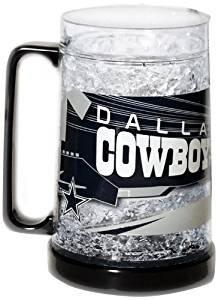 NFL Dallas Cowboys 16-Ounce Crystal Freezer Mug