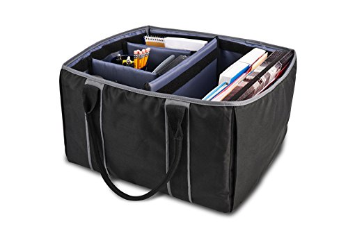 AutoExec AETote-08 Black/Grey File Tote with One Cooler and One Hanging File Holder by AutoExec (Image #10)