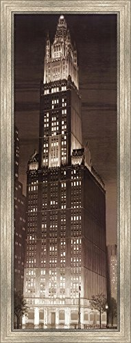 Woolworth Building by P. Moss Framed Art Print Wall for sale  Delivered anywhere in USA