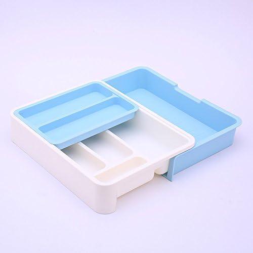 Organizador/cajón ampliable divisores de cubertería, vajilla de ...