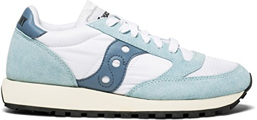 Tea Castle Blue White Vintage Zapatilla Saucony Jazz T08 Iqtf77