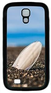 Lone Shell In The Sand Custom Samsung Galaxy S4 / SIV/ I9500 Case Cover ¨C TPU ¨C White