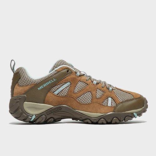 de aire Trail Zapato de calzado 37 Womens senderismo al Merrell Marrón libre Ventilador Yokota xv1qBEZUw0