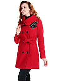 Amazon.com: Reds - Wool & Blends / Wool & Pea Coats