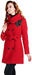 Amazon.com: Red - Wool &amp Blends / Wool &amp Pea Coats: Clothing