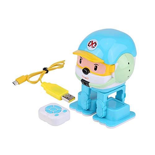 RC インテリジェント 音楽 ロボット  赤外線 ブルートゥース 音声制御 歌 ダンス LEDライト かわいい おもしろい おもちゃ 早期教育 赤ちゃん 子供
