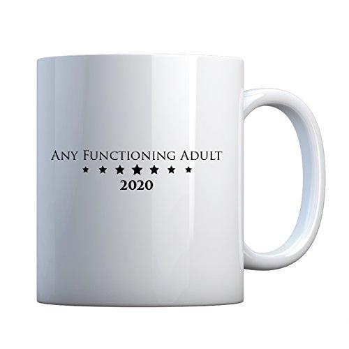 - Mug Any Functioning Adult Large Pearl White Gift Mug