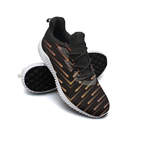 RegiDreae Men's Casual Fashion Sneaker Solar System Meteor Shower Breathable Lightweight Running Shoes