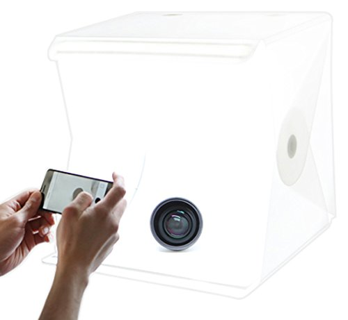 Foldio M0600R Foldio2 Portable Studio, White NVU Electronics Inc