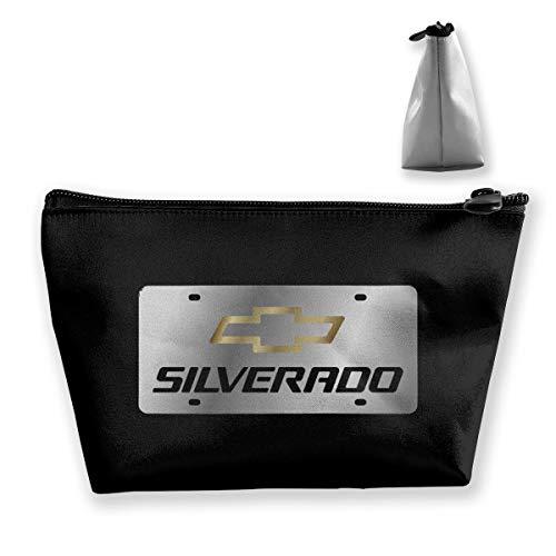 NEST-Homer Chevrolet Silverado Logo Storage Bag Handbag Purse Cosmetic Pouch Wallet Portable Makeup Receive Bag Large Capacity Bags Travel Wash Bag