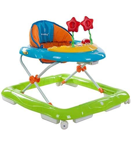Sun Baby Lux - Andador para bebé, color verde y azul: Amazon ...