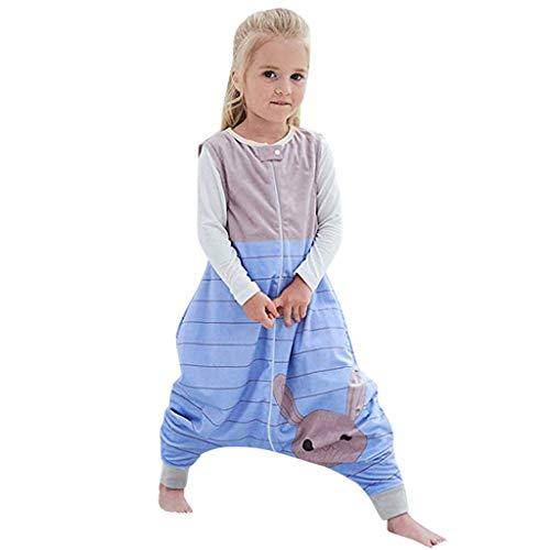 Schlafsachen Baby Junge M/ädchen Flanell Warm Schlummersack Babyschlafsack Kinderchlafsack mit Beinen Overall Schlafanzug RYTEJFES Baby Winter Schlafsack mit f/ü/ßen