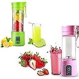Juice Cup Mini Liquidificador Portátil Recarregável (rosa)