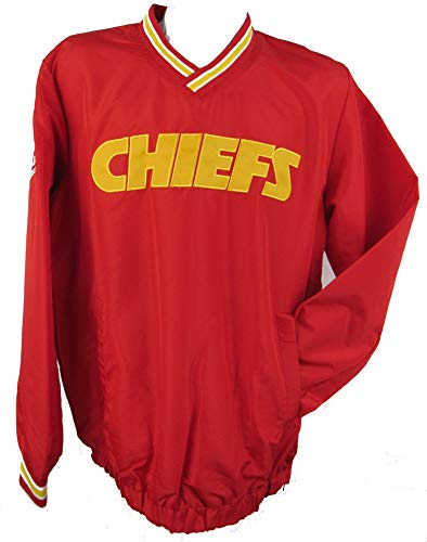 G-III Sports Kansas City Chiefs Mens Size 2X-Large Pullover Windbreaker Jacket AKAC 143 2XL (Mens G-iii Jacket)
