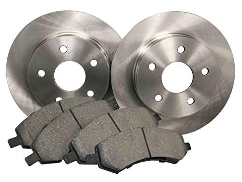 NT-ROT-23 Front Disc Brake Pad and Rotor Kit ()