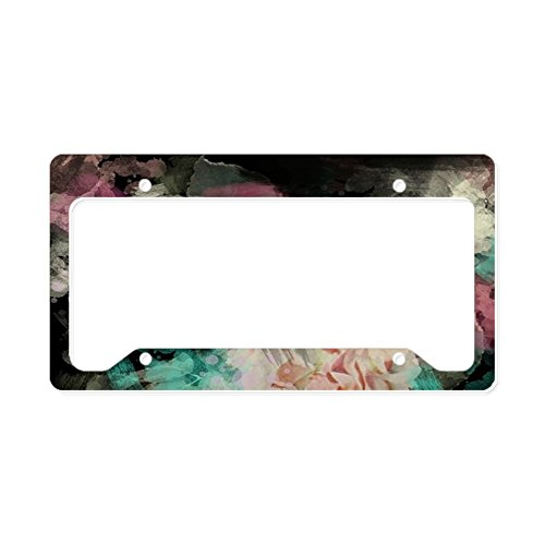 cute black license plate frames - 3