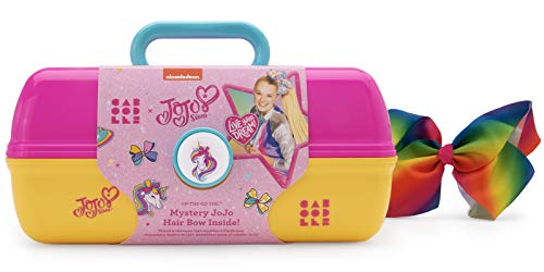 Caboodles Jojo Siwa – On-the-go Girl Costmetic Organizer Make-up & Accessory Carry Case Includes Jojo Siwa Bow, Pink…