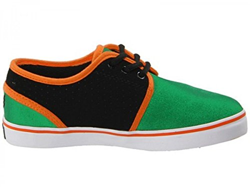 Vox Skateboard Kids Shoes Slacker Green/Black/Orange