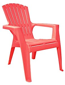 Cher RED Adiron Chair by ADAMS MFG CORP.