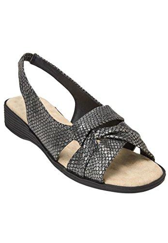 Terapia Comfort Sandalo Nero Per Donna