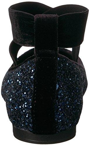Jessica Simpson Frauen Mandalaye Ballett Wohnung Mitternachtsklumpiger Glitter