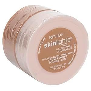 Revlon Skinlights Face Illuminator Loose Powder Golden Light 01, .75 oz (21.2 g)