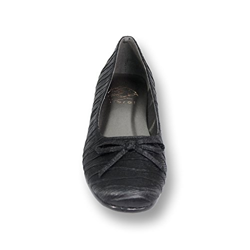 Size Black Width Flat Women FIC Wide Everyday Available FLORAL for Lizzy Casual Guides Measurement amp; Skimmer nvaqAZH
