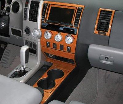 Amazon Com Toyota Tundra Interior Burl Wood Dash Trim Kit Set 2007