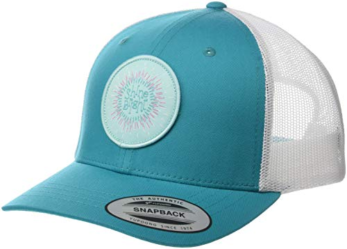 Columbia Kids & Baby Big Kids Snap Back Hat, Geyser/Circle Patch, One Size