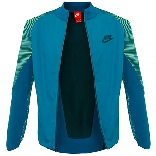 M Veste Vrsty Nike Turq Nsw Abyss Tch Midnight green Homme Verde Wvn Knt Jkt wda0aqS