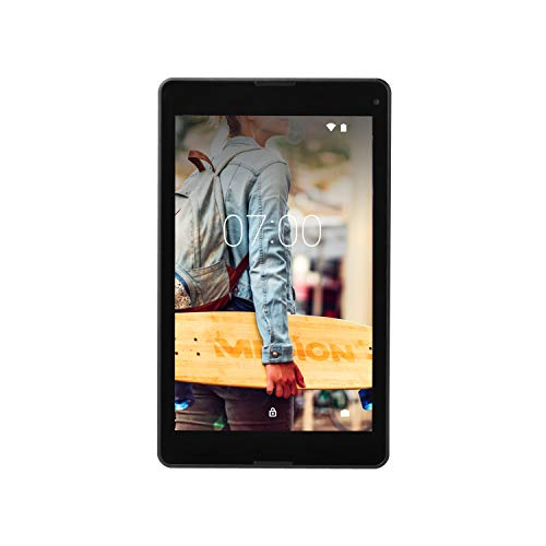 MEDION P8524 20,3 cm (8 Zoll) Full HD Tablet PC (Quad Core, 2GB RAM, 64GB Speicher, Android 7.0 Nougat, WLAN, GPS…